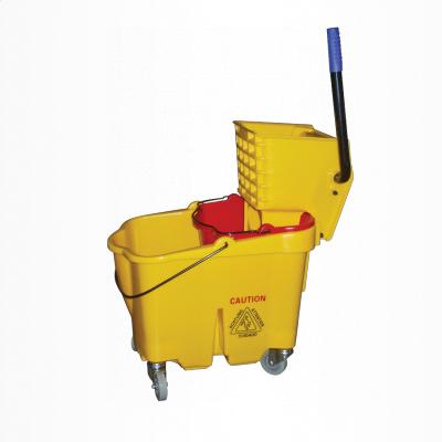 Conjunto balde espremedor 33 litros com balde divisor de águas e sistema quebra onda